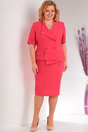Фото - Комплект юбочный Milana 127 красные тона цвет красные тона