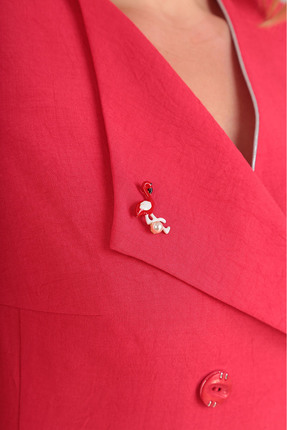 Фото 5 - Комплект юбочный Milana 127 красные тона цвет красные тона