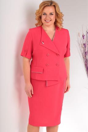 Фото 3 - Комплект юбочный Milana 127 красные тона цвет красные тона