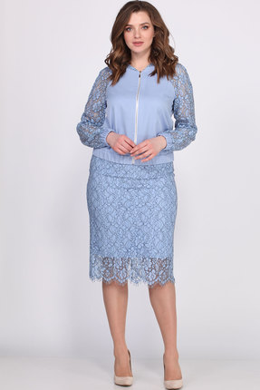 Фото - Комплект юбочный Bonna Image 405 голубой голубого цвета