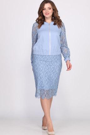 Фото 2 - Комплект юбочный Bonna Image 405 голубой голубого цвета