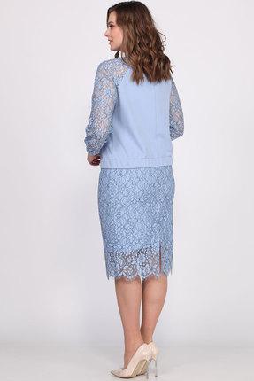 Фото 3 - Комплект юбочный Bonna Image 405 голубой голубого цвета