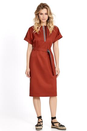 Фото - Платье PIRS 707 красные тона цвет красные тона