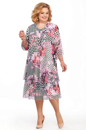 Фото - Платье Pretty 242-2 розовые тона цвет розовые тона