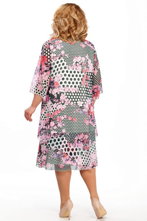 Фото 2 - Платье Pretty 242-2 розовые тона цвет розовые тона