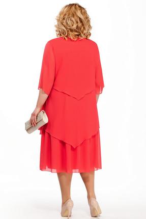 Фото 2 - Платье Pretty 347 красный красного цвета
