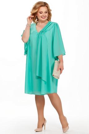 Фото - Платье Pretty 805 бирюзовые тона цвет бирюзовые тона