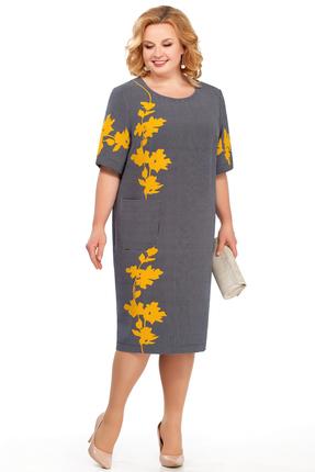 Фото - Платье Pretty 873 серые тона цвет серые тона
