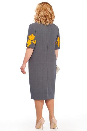 Фото 2 - Платье Pretty 873 серые тона цвет серые тона