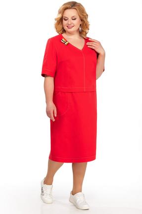 Фото - Платье Pretty 876 красный красного цвета