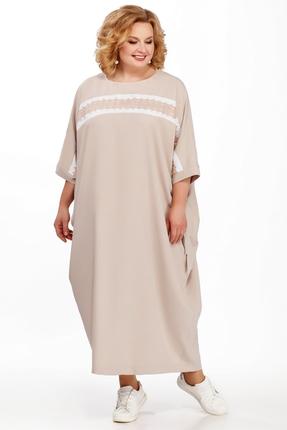 Фото - Платье Pretty 877 бежевые тона цвет бежевые тона