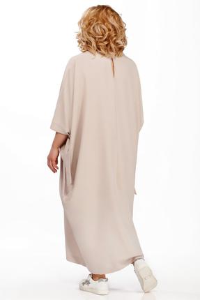 Фото 2 - Платье Pretty 877 бежевые тона цвет бежевые тона