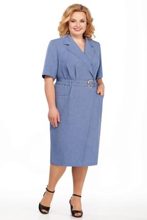 Фото - Платье Pretty 882 синий синего цвета