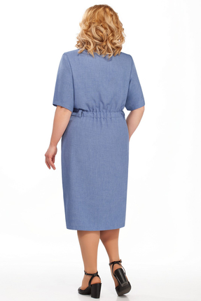 Фото 2 - Платье Pretty 882 синий синего цвета