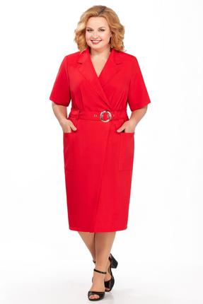 Фото - Платье Pretty 882 красный красного цвета
