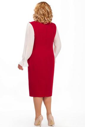 Фото 2 - Платье Pretty 887 красные тона цвет красные тона