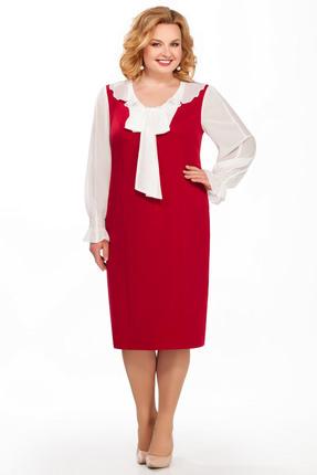 Фото - Платье Pretty 887 красные тона цвет красные тона