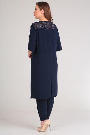 Фото 4 - Комплект брючный Viola Style 20528 синий синего цвета