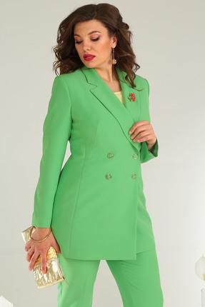 Фото 4 - Комплект брючный Мода-Юрс 2369-2 зеленый зеленого цвета