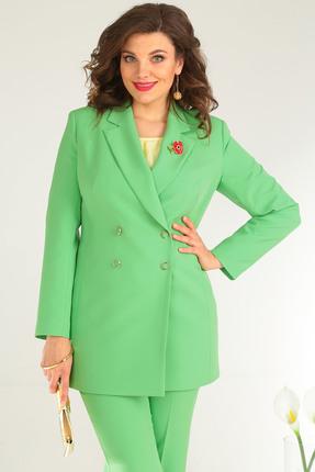 Фото 7 - Комплект брючный Мода-Юрс 2369-2 зеленый зеленого цвета