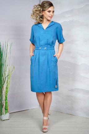 Фото - Платье Olegran д-578 синий синего цвета