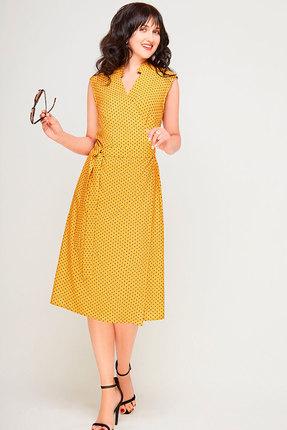 Фото - Платье SWALLOW 180 горчица цвет горчица