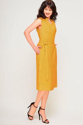 Фото 2 - Платье SWALLOW 180 горчица цвет горчица
