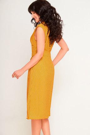 Фото 3 - Платье SWALLOW 180 горчица цвет горчица