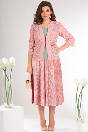 Комплект юбочный Мода-Юрс 2483 розовый