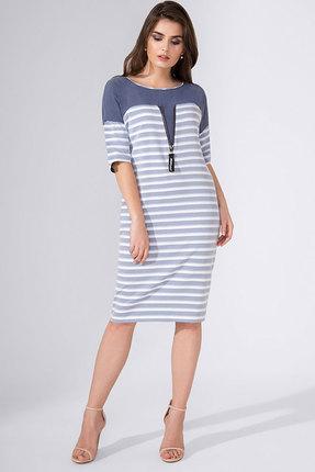 Купить Платье Avanti Erika 800 голубой, Повседневные платья, 800, голубой, вискоза 72%, ПЭ 25%, спандекс 3%, Лето