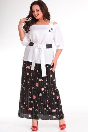 Комплект юбочный Danaida 1664 белый с черным