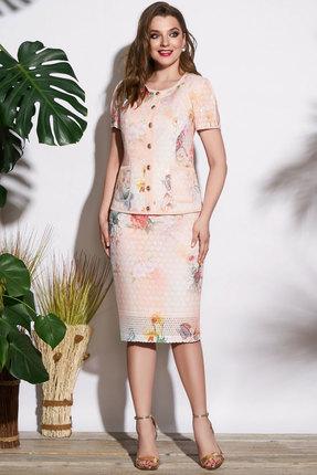 Комплект юбочный Lissana 3727 пудровый