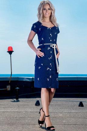 Купить со скидкой Платье DilanaVIP 1335 синий