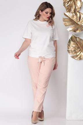 Комплект брючный Michel Chic 1104 розовые тона