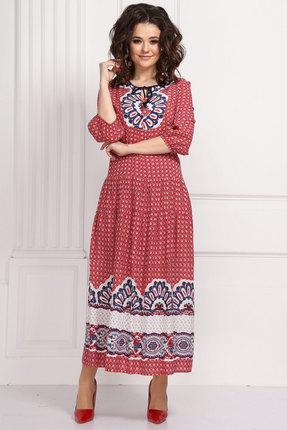 Платье Solomeya Lux 593 красный