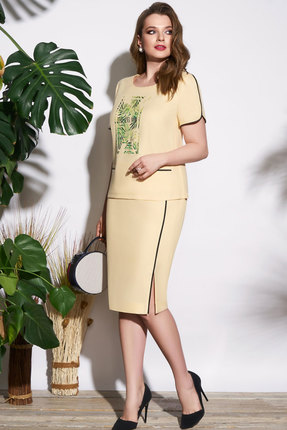 Комплект юбочный Lissana 3716 бежевый