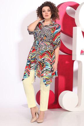 Комплект брючный Juliet Style D63 разноцвет