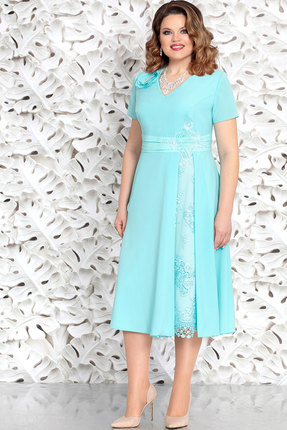 Платье Mira Fashion 4626 мята