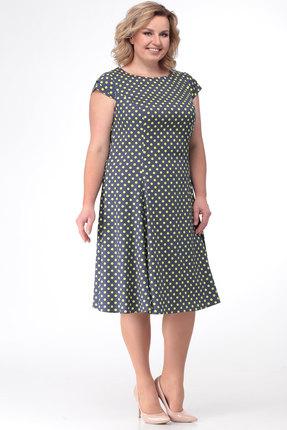 Платье KetisBel 1369д олива