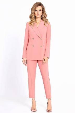 Комплект брючный PIRS 689 светло розовый