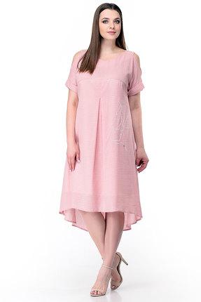 Платье Мишель стиль 777 розовый