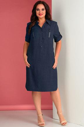 Платье Тэнси 258л синий