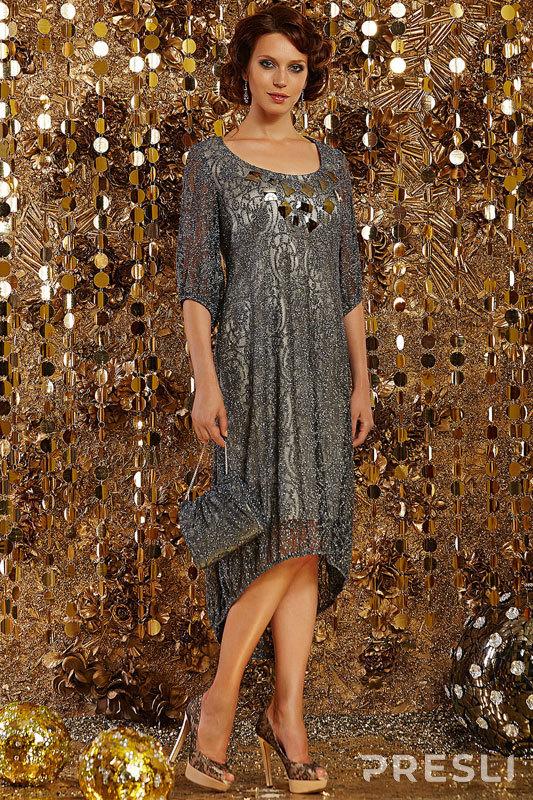 Платье Artribbon-Lenta 2356Р1001 графит