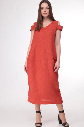 Платье MALI 478 терракот, Повседневные платья, 478, терракот