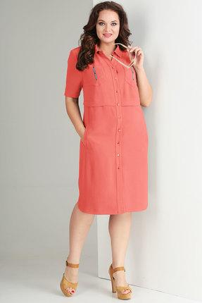 Платье Тэнси 271 розовый, Повседневные платья, 271, розовый