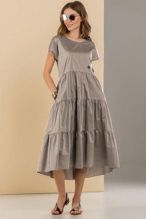 Платье Deesses Р-053.1 серый, Повседневные платья, Р-053.1, серый