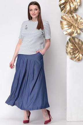 Комплект юбочный Michel Chic 1109 синие тона, Юбочные, 1109, синие тона