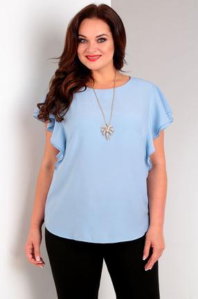 Блузка Таир-Гранд 62269 голубые тона, Блузки, 62269, голубые тона