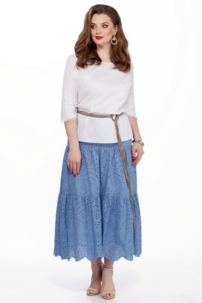 Комплект юбочный TEZA 184 сине белый, Юбочные, 184, сине белый