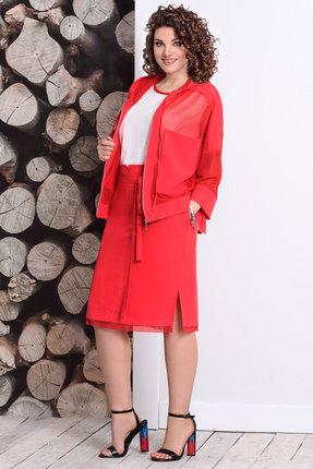 Комплект юбочный Мублиз 349 красный